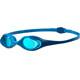 arena Spider Okulary pływackie Dzieci niebieski